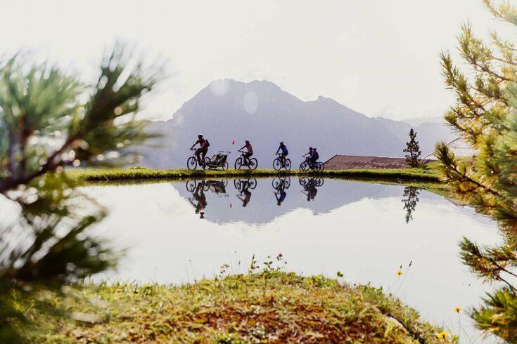 Biken in Wagrain-Kleinarl, Sommerurlaub