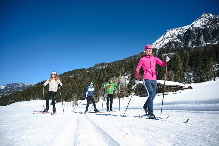 Langlaufen, Winterurlaub in Wagrain, Snow Space Salzburg