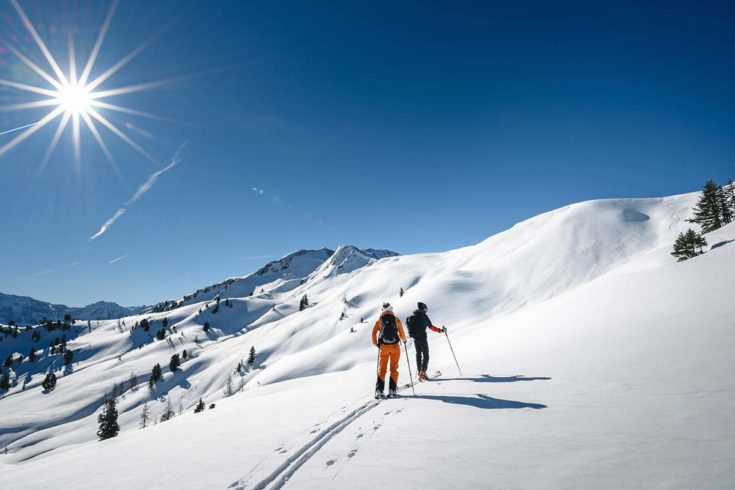 Skitouren, Winterurlaub in Wagrain, Snow Space Salzburg